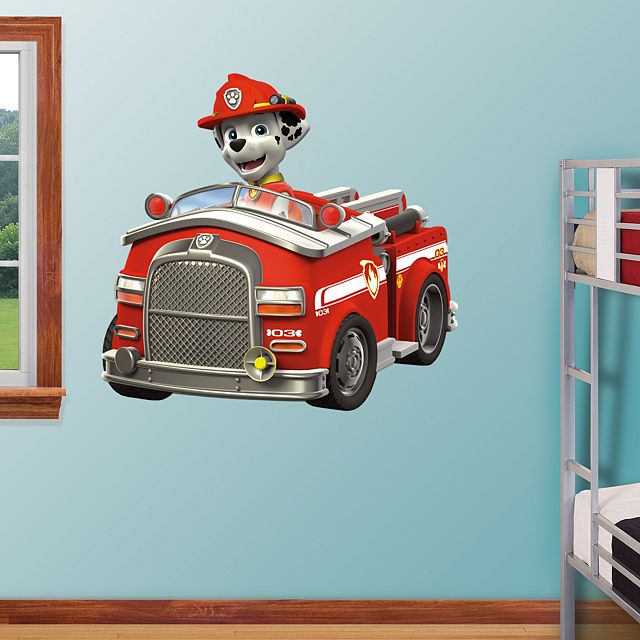 Marshall Fire Truck Giant Officially Licensed Paw