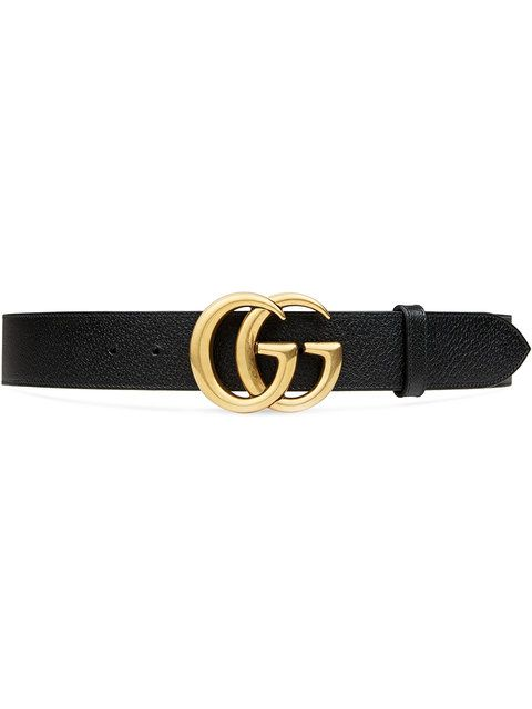 d277af11c34 Gucci Leather Belt With Double G Buckle in 2018