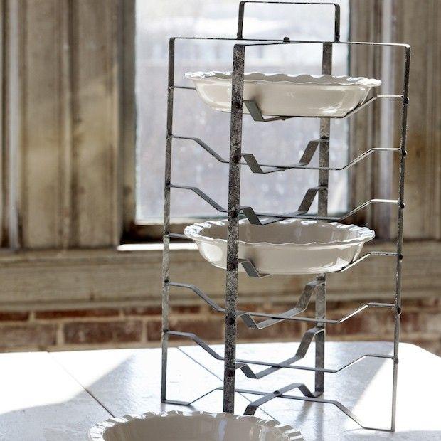Metal Pie Rack And Plate Stand & Metal Pie Rack and Plate Stand | Metals Plate stands and Pie plate