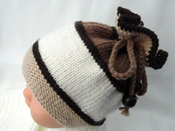 Photo of Knitting PATTERN Baby Hat Baby Beanie Knit Pattern Baby Boy Baby Girl Hats Knitted Baby Cap Infant Hat Newborn Pattern Children ( PDF ) Only