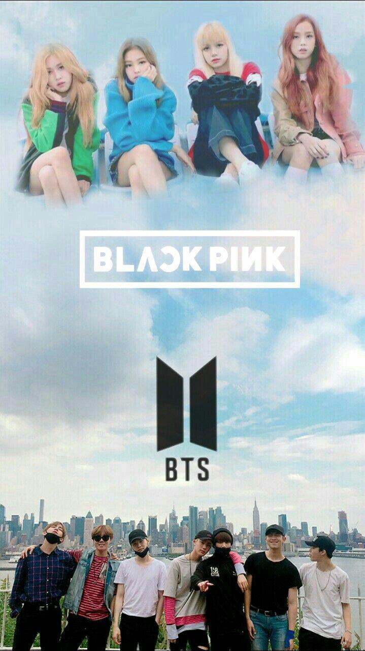 Blackpink X Bts Wallpaper Bts X Blackpink X Twice X Got7