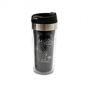Moomin Travel Mug – Black | Wishlist