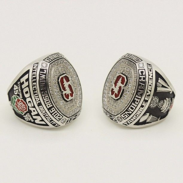 Custom 2016 Stanford Cardinal Rose Bowl Championship Ring Click Link in My Profile to Order