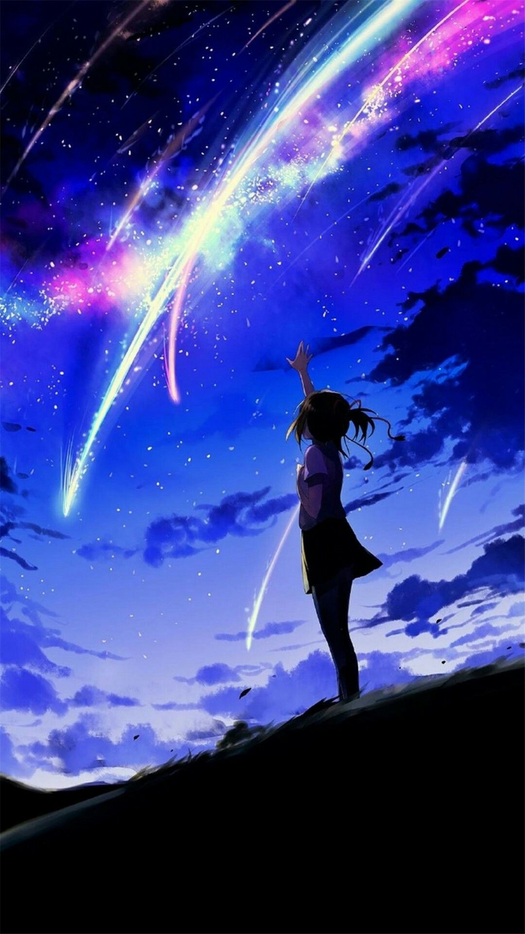 Pin By R Mk On G A L E R I A In 2020 Anime Galaxy Kimi No Na Wa Your Name Anime