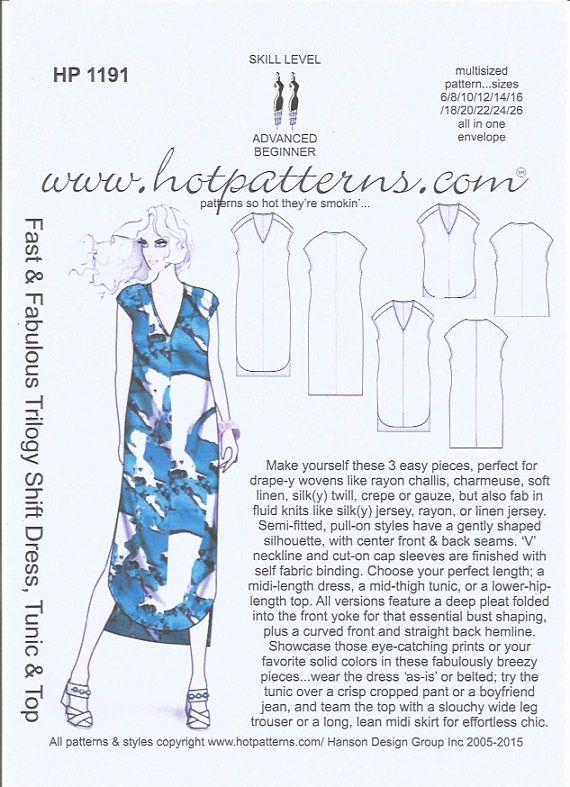 BATIK, Trilogy Shift Dress, Choice of Hand Printed Fabrics, Rayon ...
