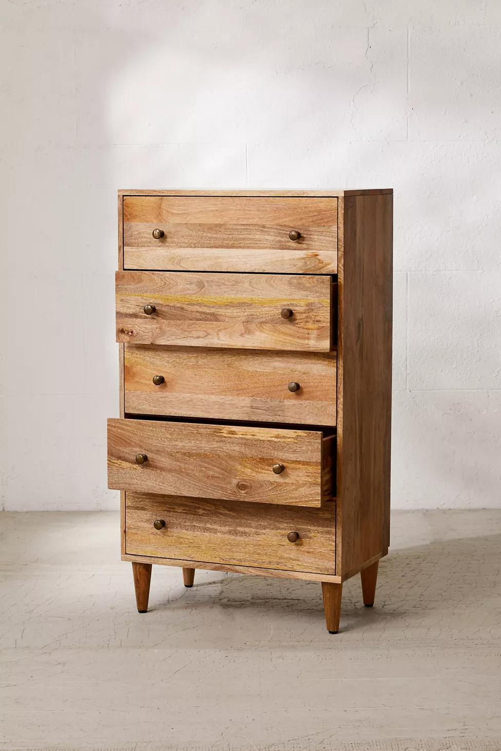 Amelia Tall Dresser In 2021 Tall Dresser Natural Wood Dresser Diy Dresser [ 1463 x 976 Pixel ]