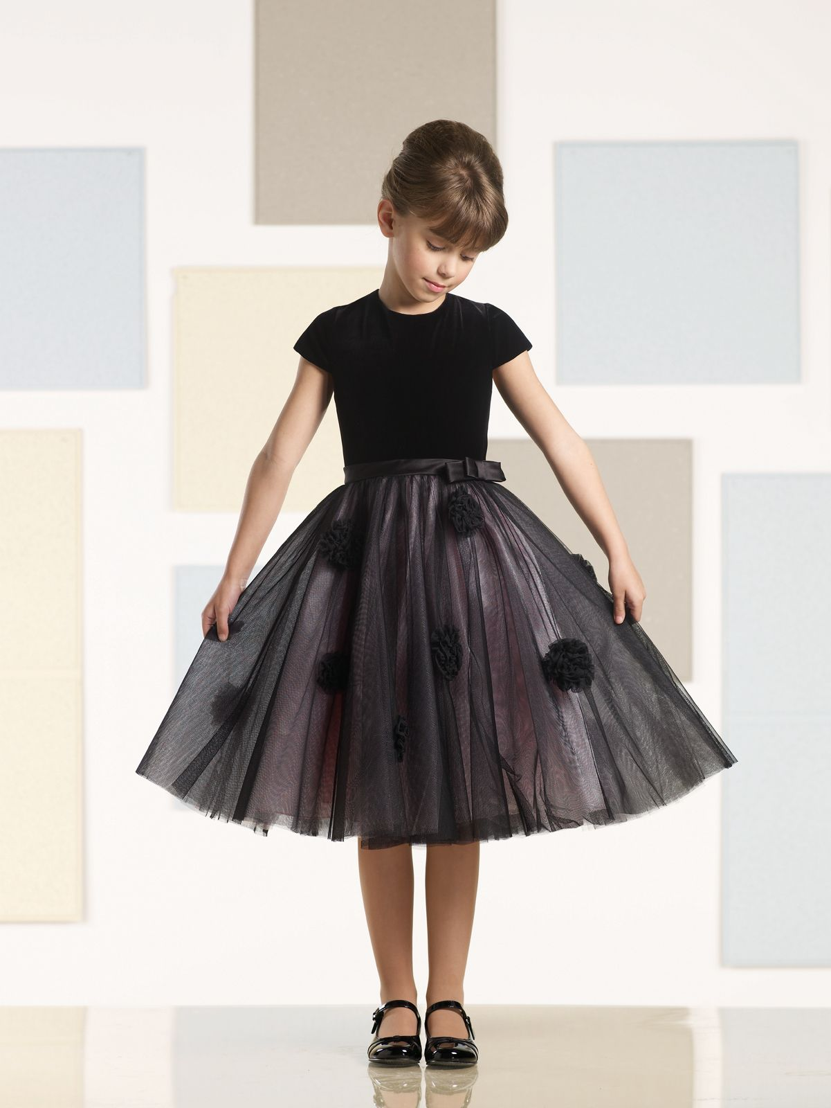 Black Flower Girl Dress | Black Flower Girl Dresses | Pinterest ...