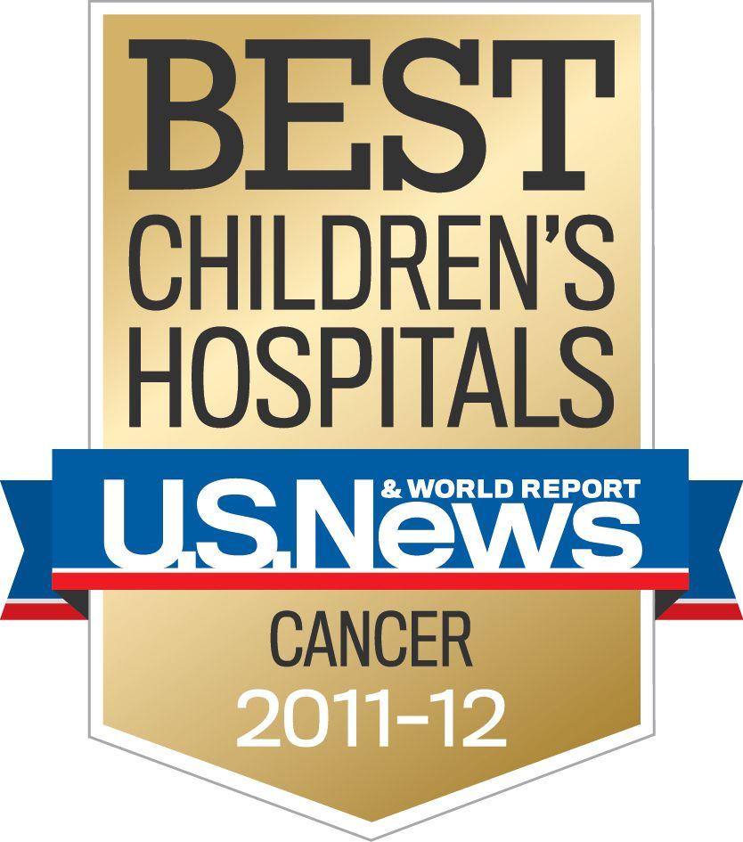 Best Children's Hospital US News & World Report - Cancer 2011-12