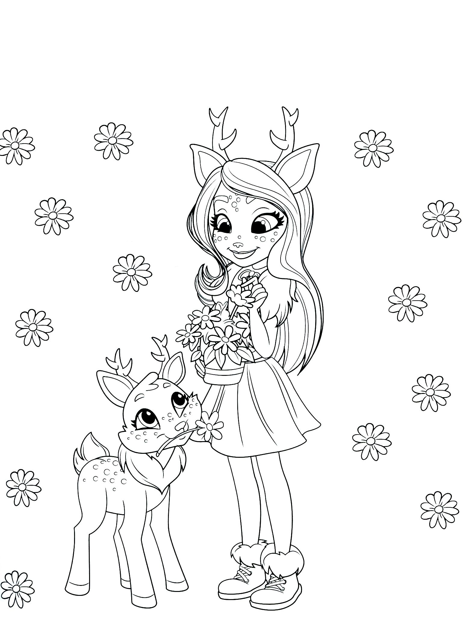 Enchantimals Coloring Pages Ready to Download en 2020 ...