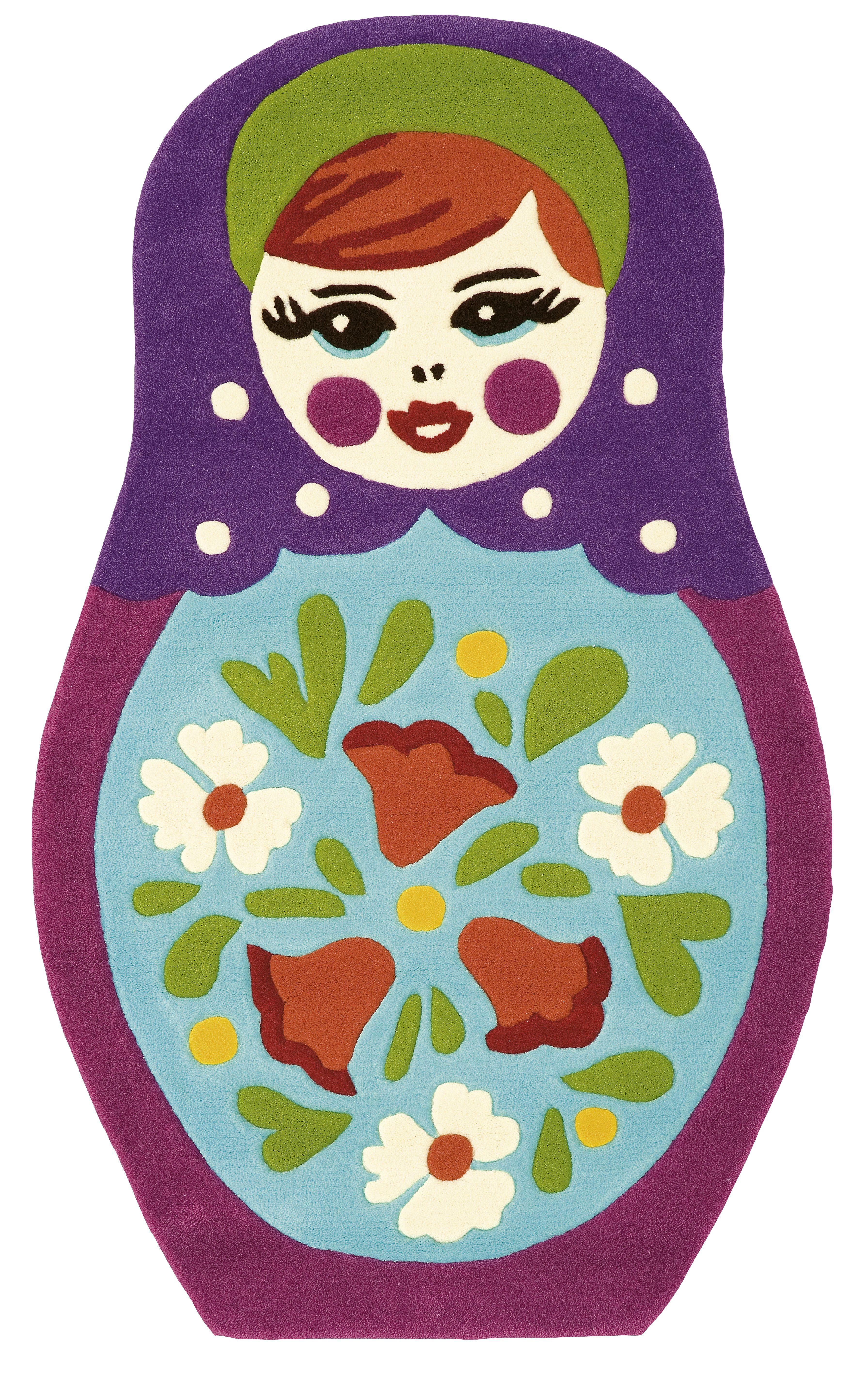 Matryoshka Russian Nesting Doll Rug