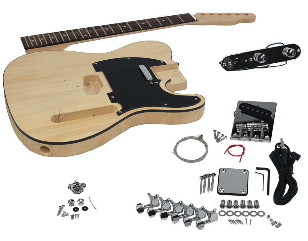 Solo Tck 1 Diy Electric Guitar Kit Solo Music Gear Guitar Kits Guitar Electric Guitar