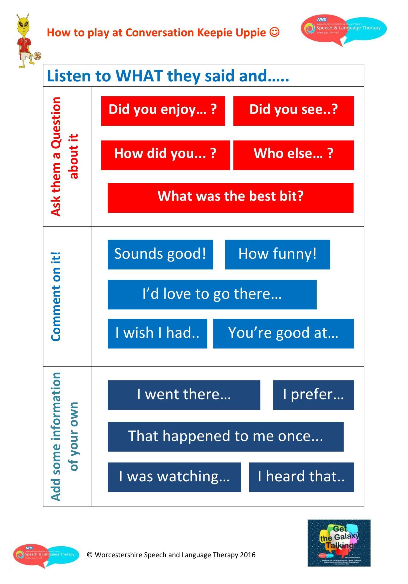 Ways To Help Children To Keep A Conversation Going