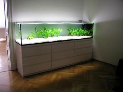 ikea kommode für aquarium