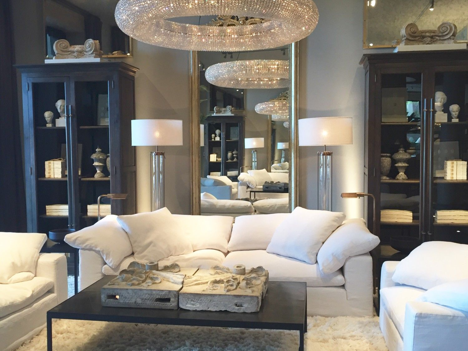 This Is How Interior Designers Do Living Room Decoration. Restoration  Hardware ...