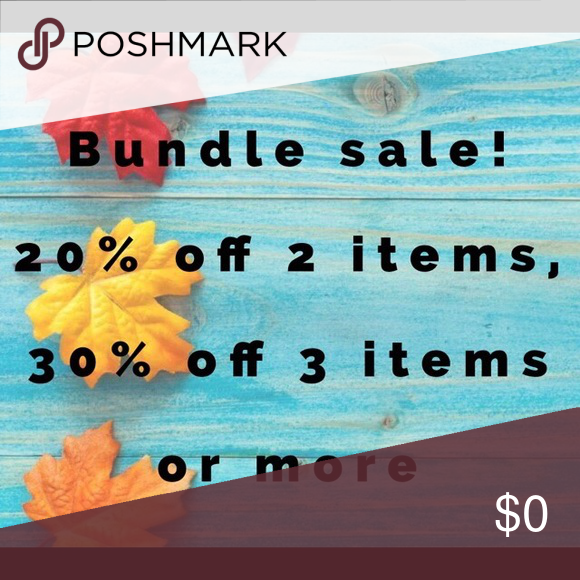 Today only! Just add things into a bundle and let me know you're interested in buying and I will adjust the discount! Other