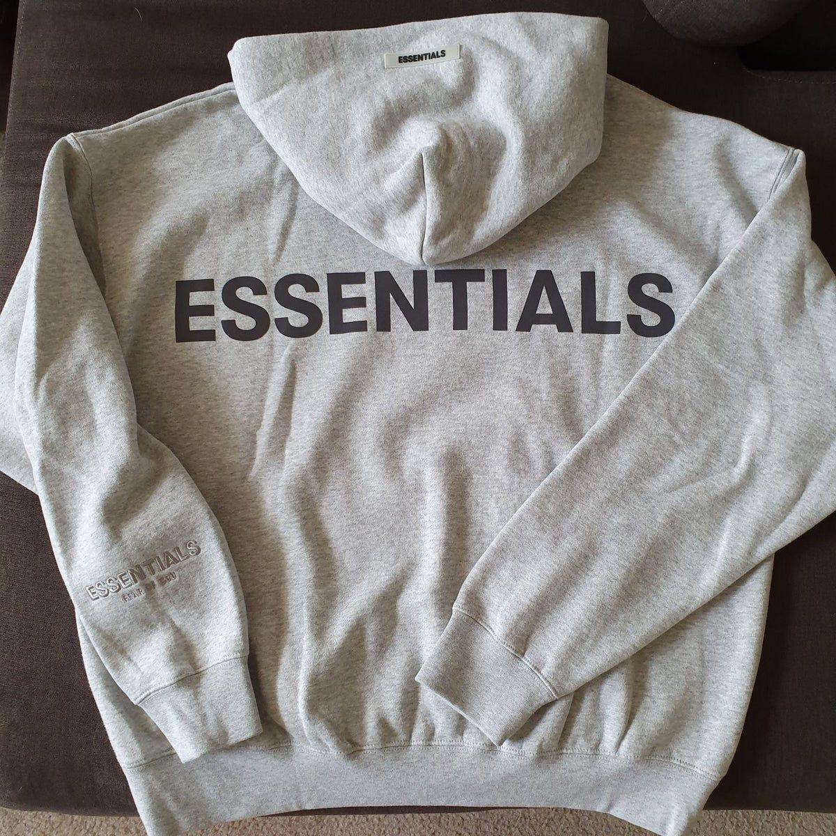 Fear Of God Essentials Hoodie Reflective Hoodies Cool Hoodies Sweatshirts Hoodie [ 1200 x 1200 Pixel ]