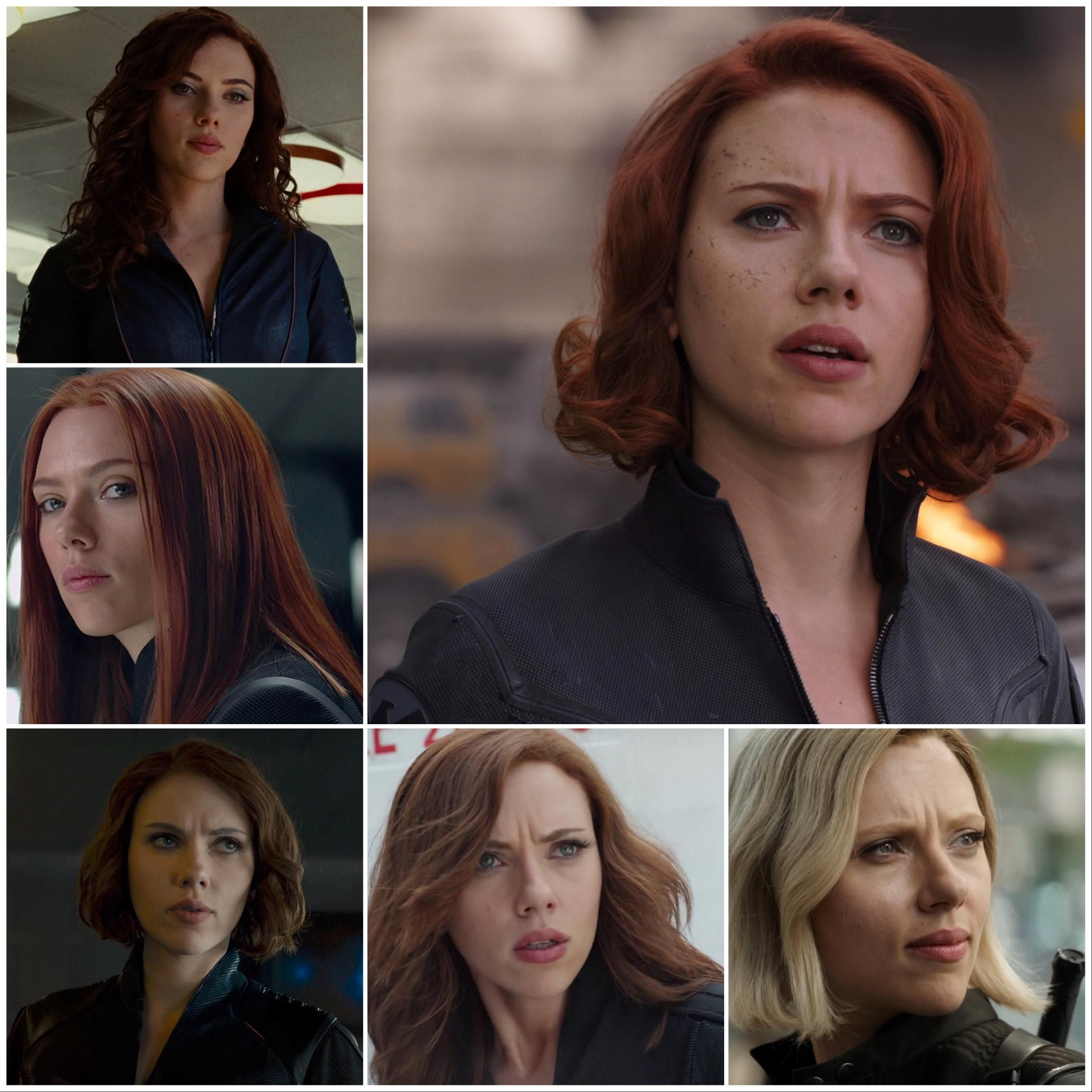 Poll Which One Is Your Favorite Black Widow S Hair Black