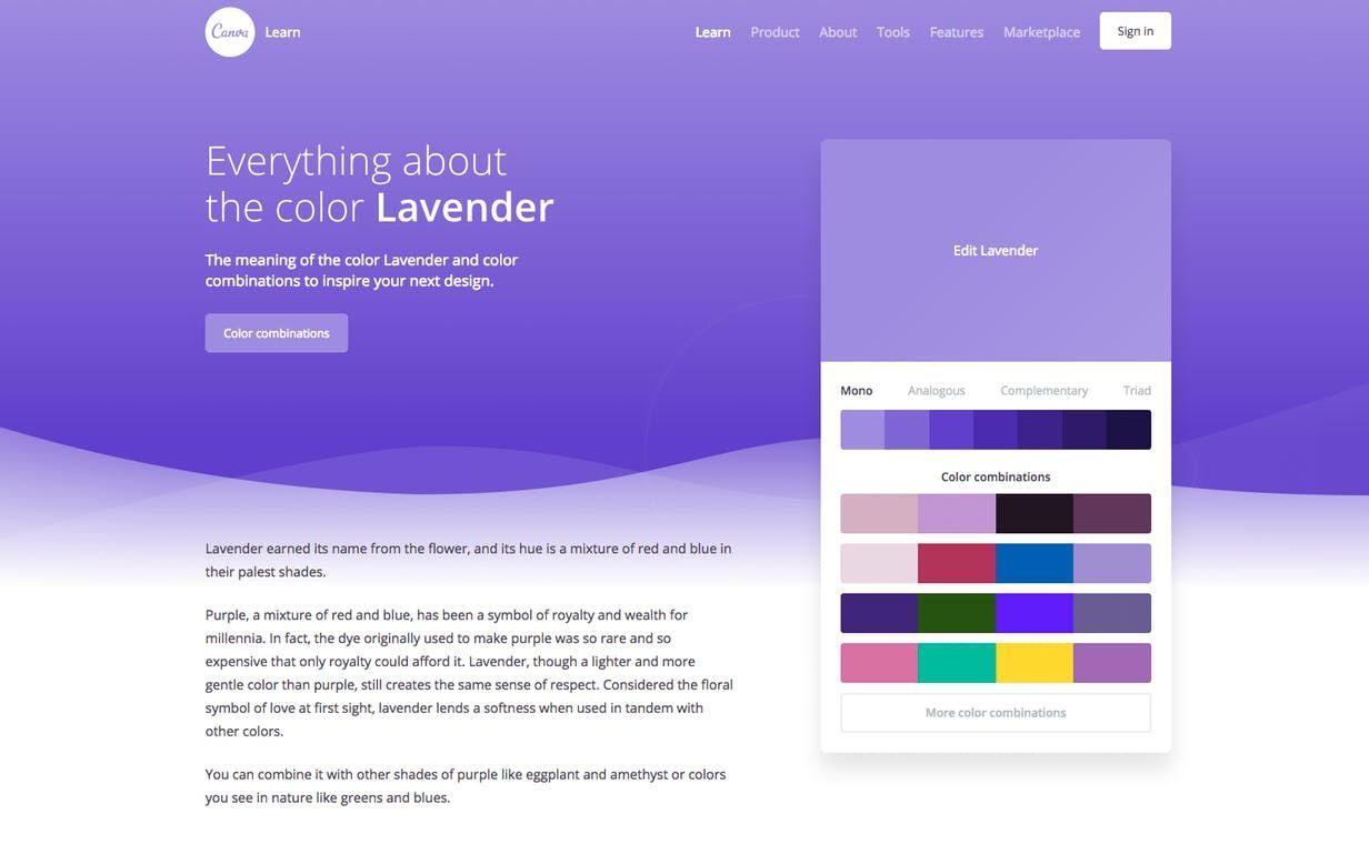 Canva Color Wiki Product Hunt Design Tools Pinterest