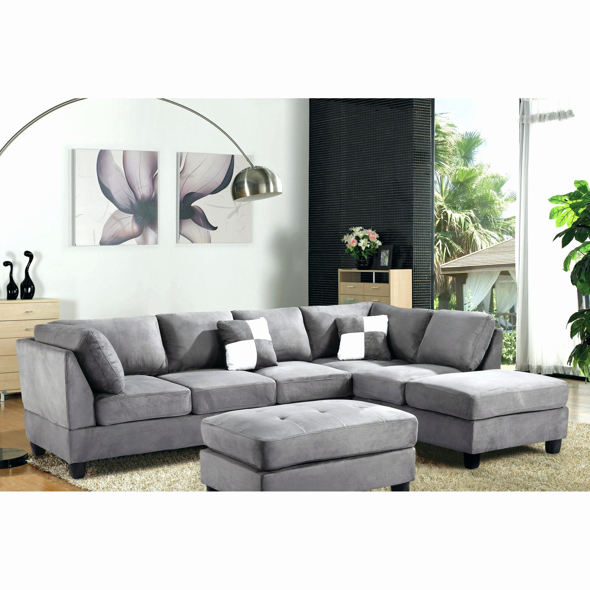 Luxury Buchannan Microfiber Sofa Multiple Colors Articles With Sectional  Sofa With Reversible Chaise Ottoman Tag Check