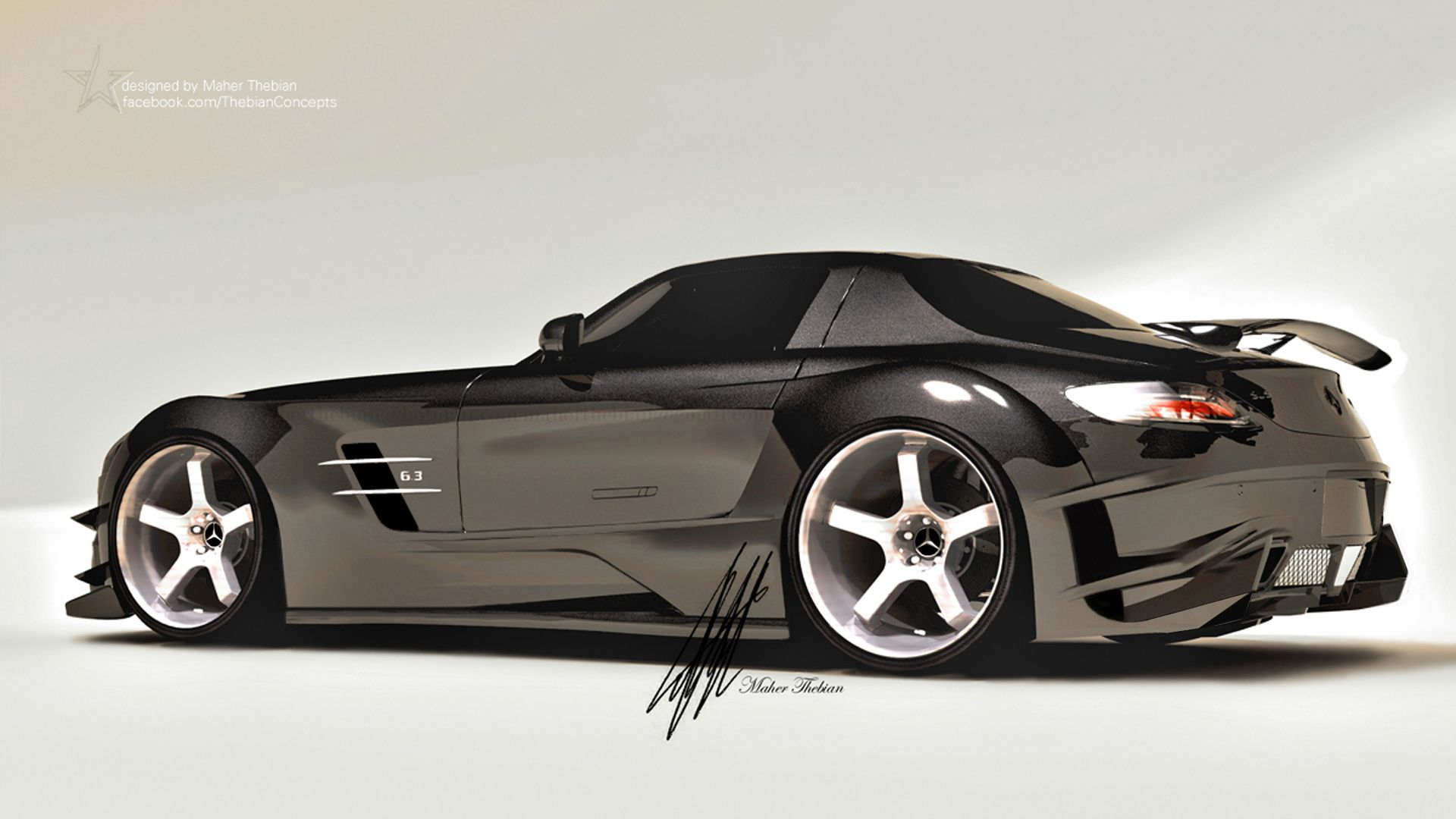 My new SLS body kit design. Hope you like and free to share.