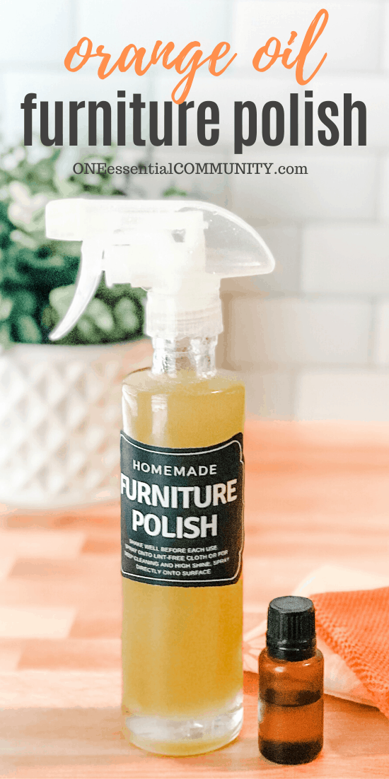 Homemade Furniture Polish Homemade furniture polish
