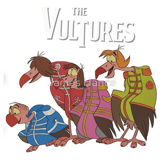 the vultures the beatles the jungle book arts and crafts
