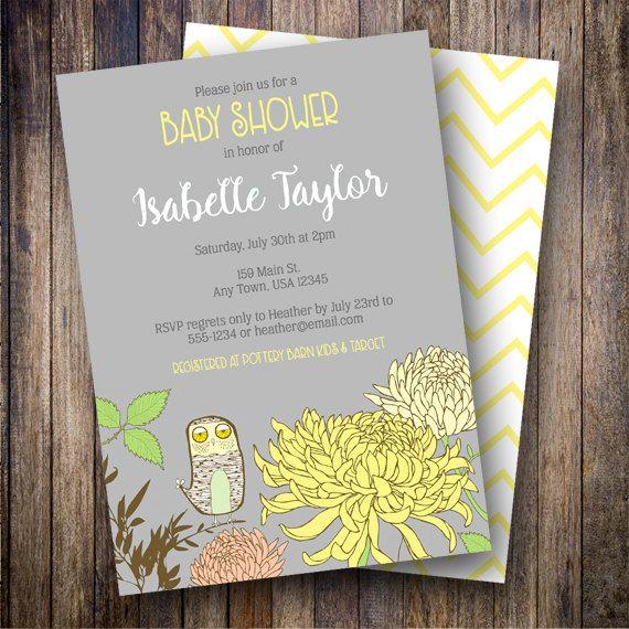 Vintage owl baby shower invitation owl baby shower invite vintage owl baby shower invitation owl baby shower invite printable floral baby shower invitation filmwisefo
