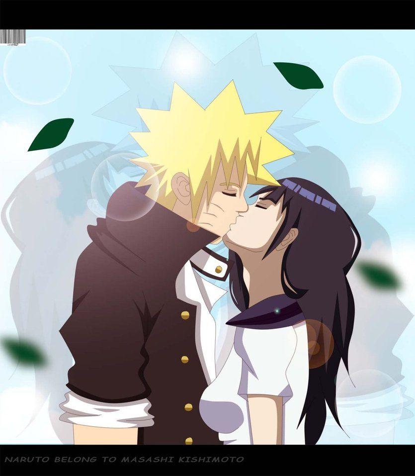 NaruHina What Will It Be | NaruHina highschool Love kiss by Sarah927