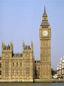 Big Ben, the Worlds most famous clock in London