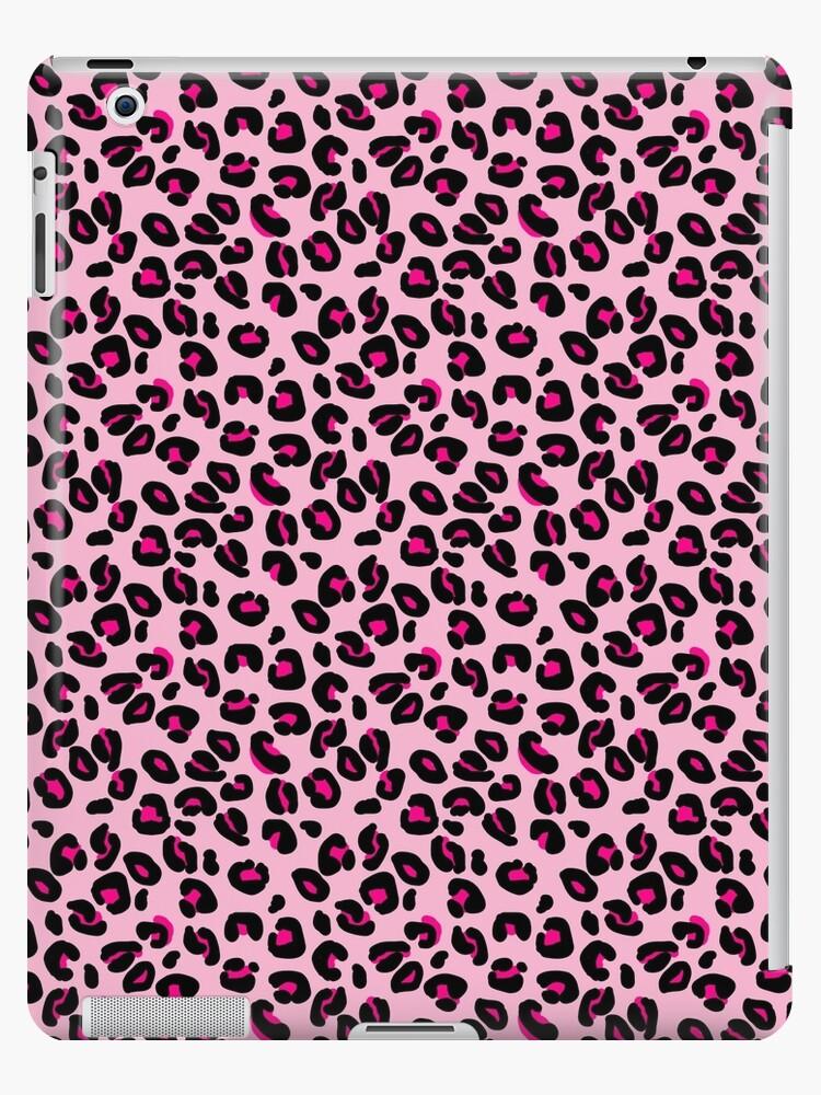 Soft Pink And Black Leopard Spots Animal Print Pattern Ipad Retina 3 2 Snap Case By Podartist Animal Prints Pattern Leopard Print Background Wallpaper Leopard Print Background