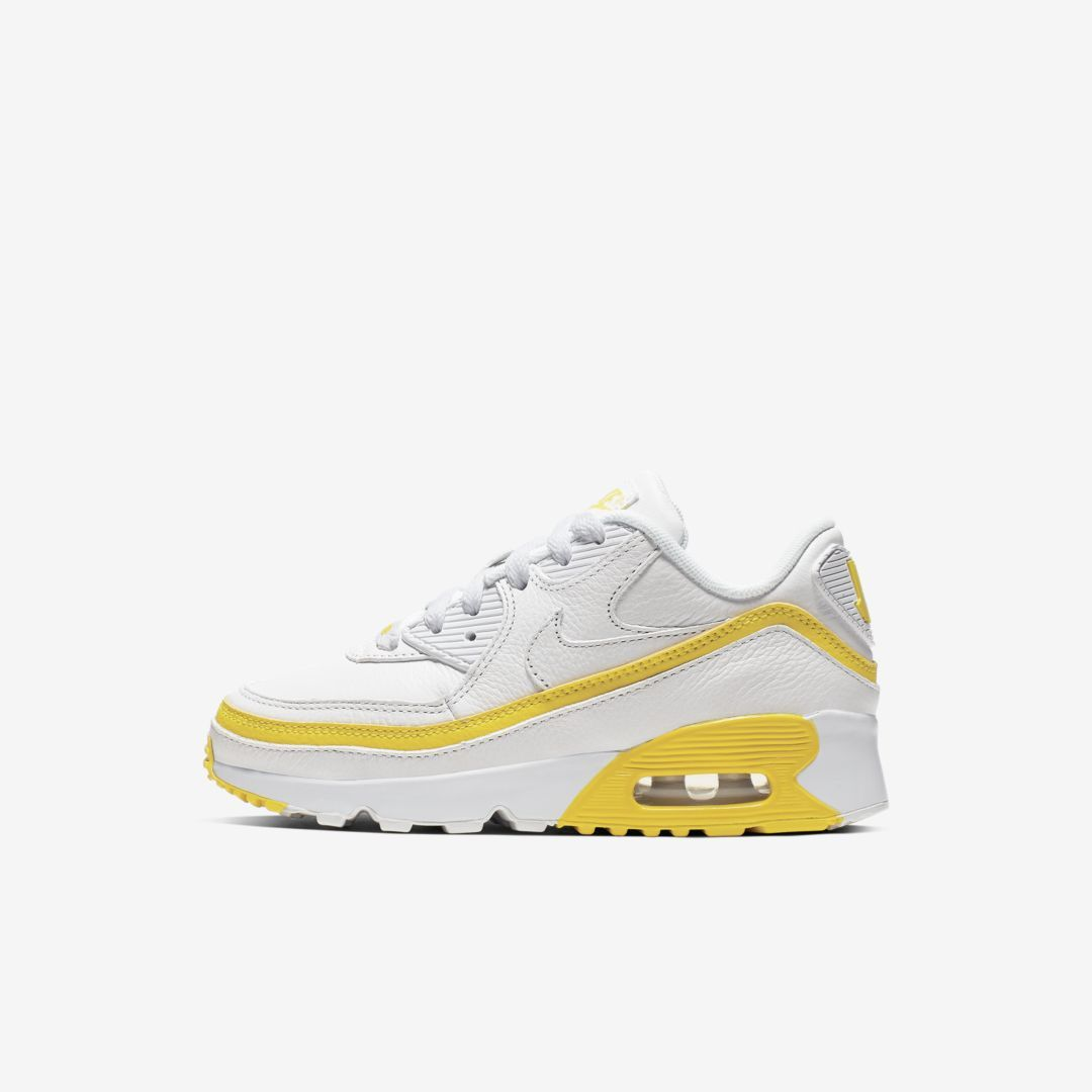 Nike x Undefeated Air Max 90 Little Kids' Shoe (White
