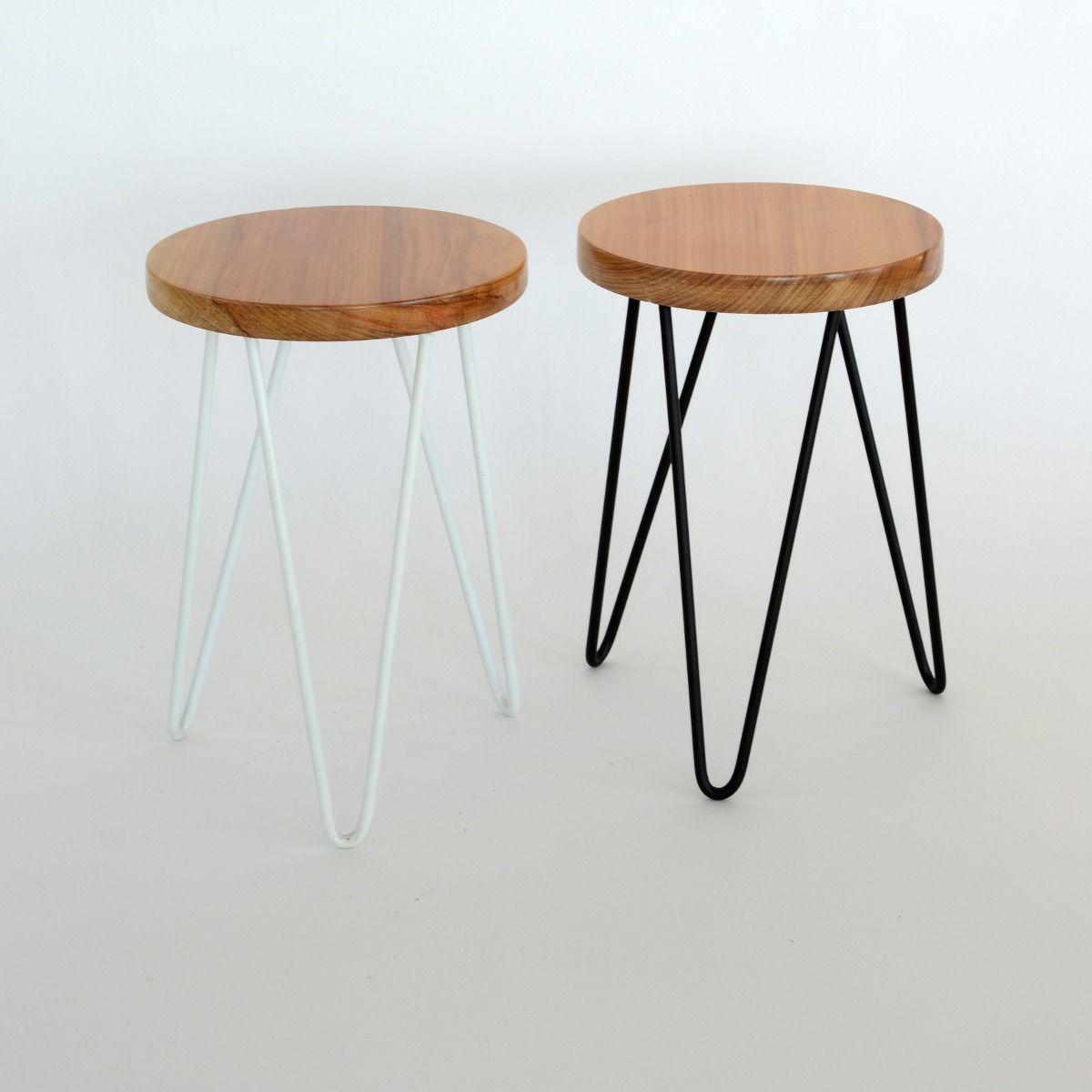 banquito de hierro y madera | *Lovingroom | Pinterest | Hierro ...