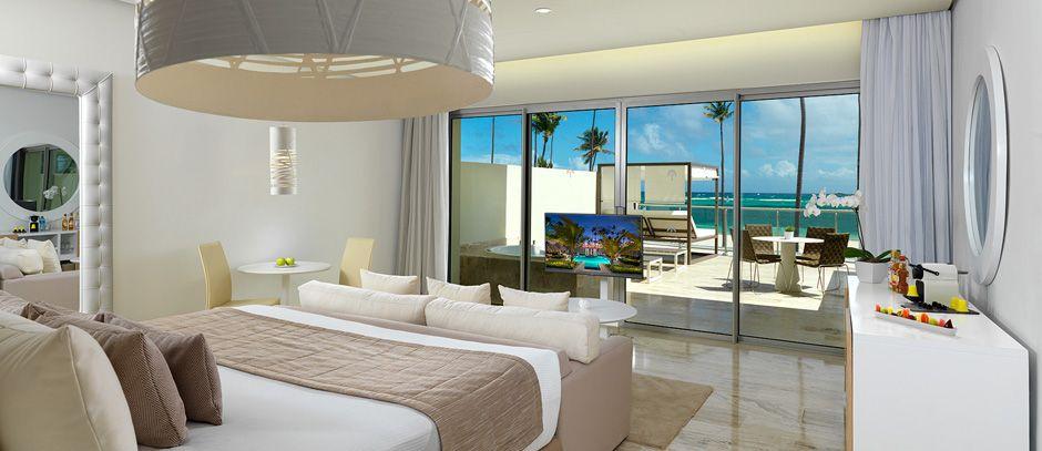 The Reserve Beach Luxury Junior Suite Ocean Front At Paradisus Palma Real