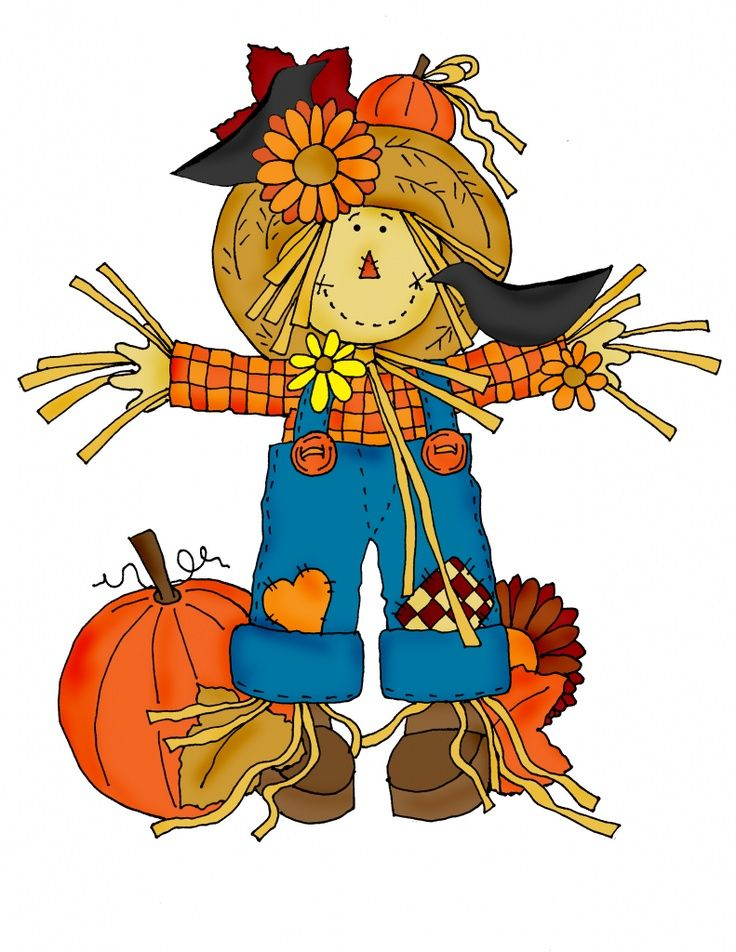graphic relating to Printable Scarecrows named Printable Scarecrow Clip Artwork Dearie Dolls Digi Stamps