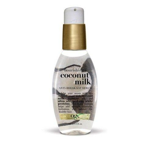 Ogx Coconut Milk Anti Breakage Serum 4oz In 2019 Hair Ogx