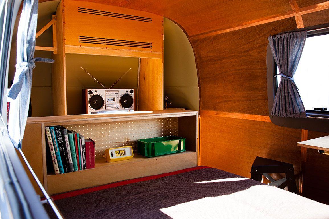 Interior design: Mingu Mokuhei, Jesus Salinas. 80's Music Boom Box working with Bluetooth
