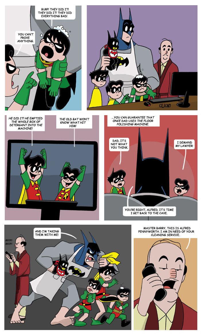 Mr  Bat-Mom Page 34 by The-BlackCat deviantart com on @deviantART