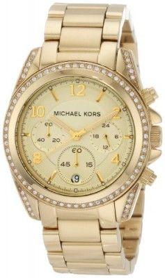 Relógio Michael Kors Golden Runway Watch with Glitz MK5166  Relogios   MichaelKors 63a64c7984