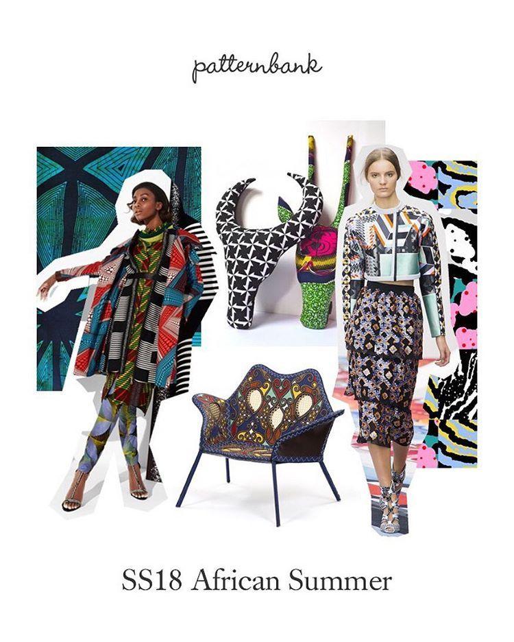 Explore This Spring Summer Print Trend Story African Summer From