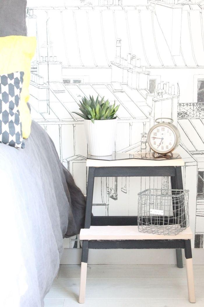Bedside Step Stools For Adults: 1001 + Idées Pour Réussir Un Projet De Détournement De