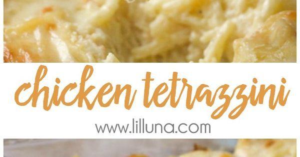 Chicken Tetrazzini | Recipe | Tetrazzini, Cream and My family