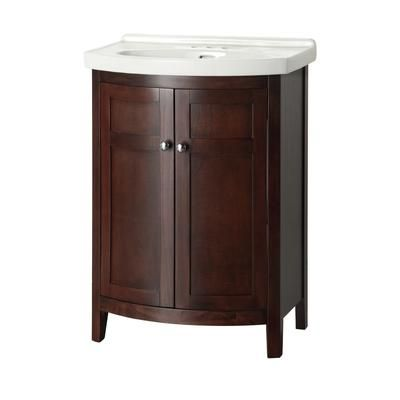 Bathroom Sinks Home Depot Canada foremost international - denville 25 inch vanity combo - deta2519