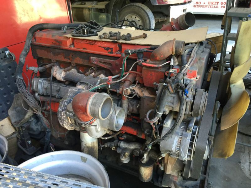 CUMMINS ISX ENGINE #parts #vehicle #commercial #truck #other