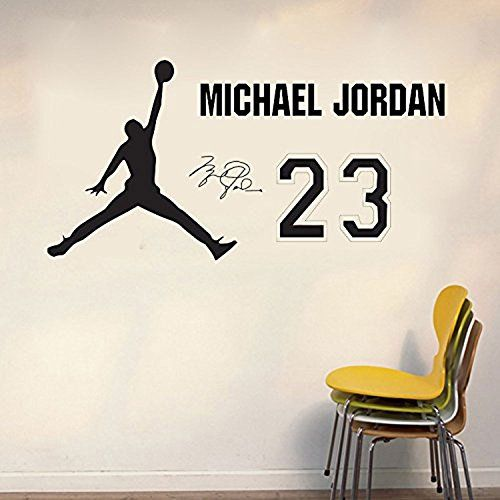 Basketball Michael Jordan Wall Decal Sticker Removable Wall Art Decals  Decor Wall Mural Decal Stickers For Part 80