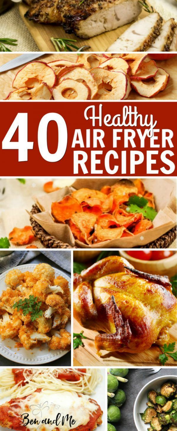 Photo of Grab these 40 healthy Air Fryer recipes!