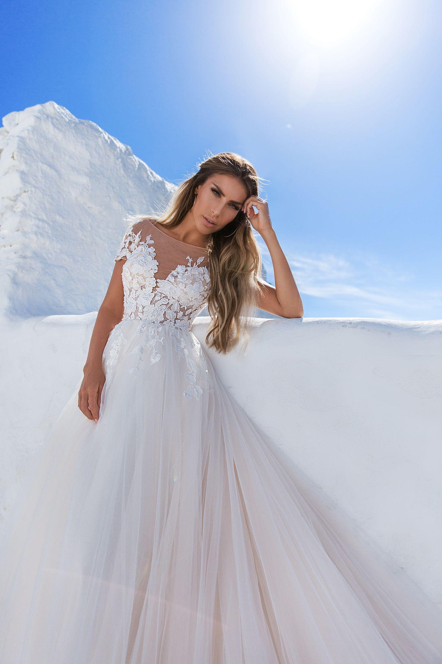 ELLY   Lightness Wedding Dress   Style 009 Beatric