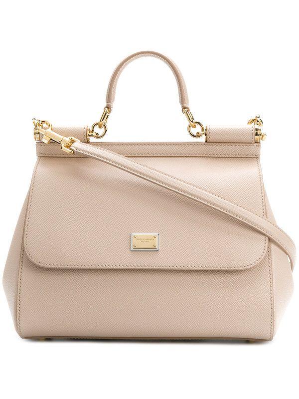 c2568a3878b3 Dolce   Gabbana - Sicily shoulder bag - women - Calf Leather - One Size