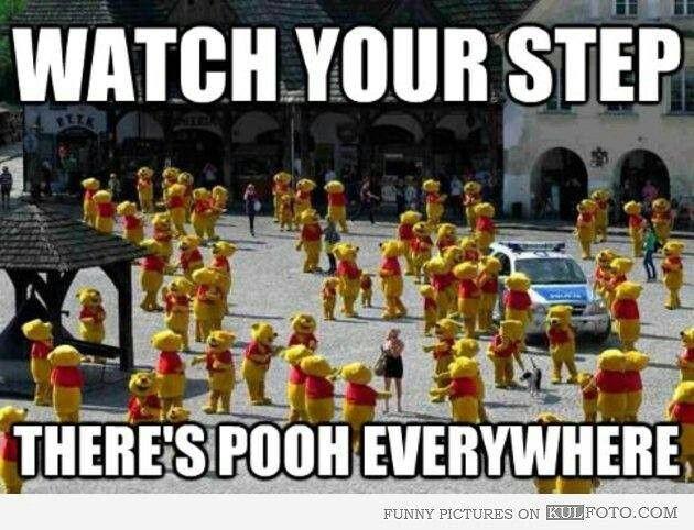 Pooh everywhere!