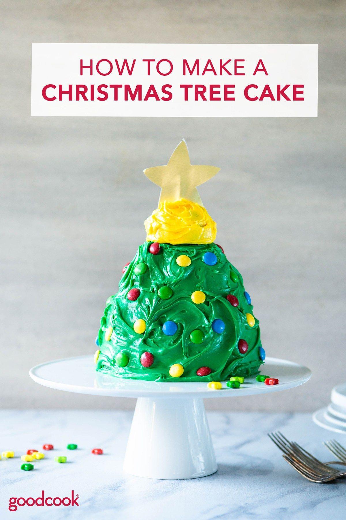 How to Make a Christmas Tree Cake Recipe Cakes and