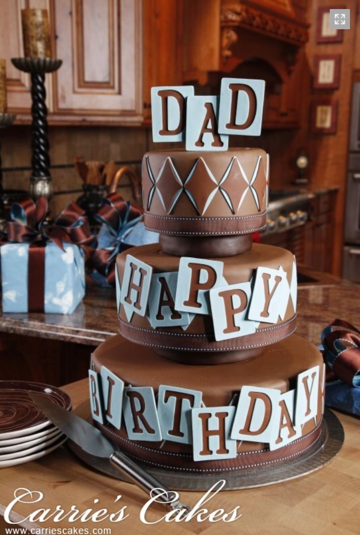 Happy Birthday Dad Happy Birthday Name Cakes Pinterest Happy